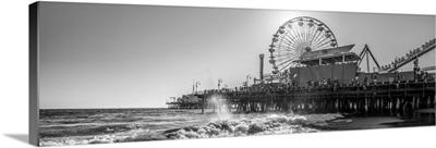 Santa Monica Pier, Los Angeles, California - Panoramic