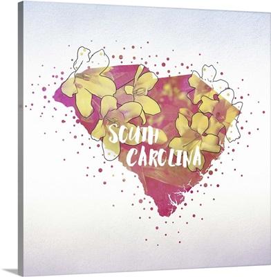 South Carolina State Flower (Yellow Jessamine)