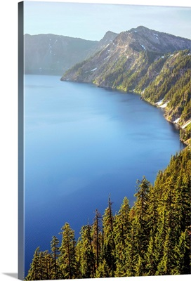 South Side Of Crater Lake, Oregon
