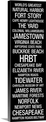 Subway Roll: Hampton Roads, Virginia