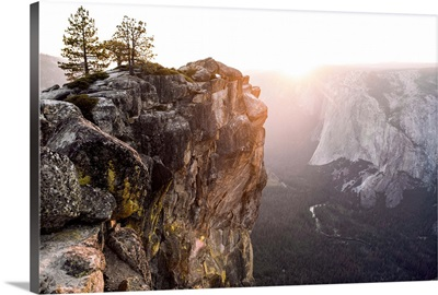Sunset At Yosemite National Park, California