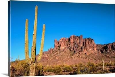 Superstition Mountains In Phoenix, Arizona
