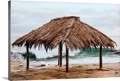 Surf Shack At Windansea Beach, La Jolla, California