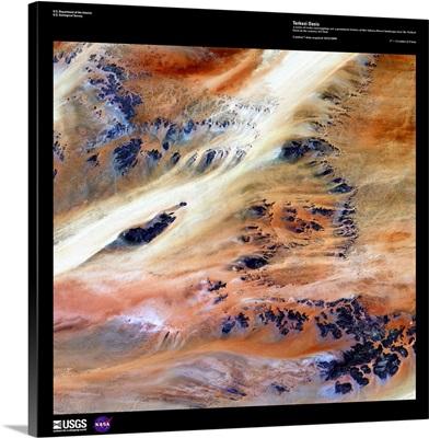 Terkezi Oasis - USGS Earth as Art