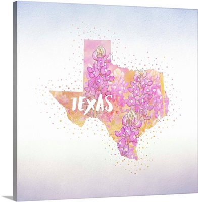 Texas State Flower (Blue Bonnet)
