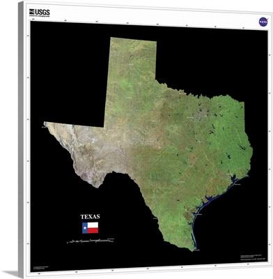 Texas - USGS State Mosaic