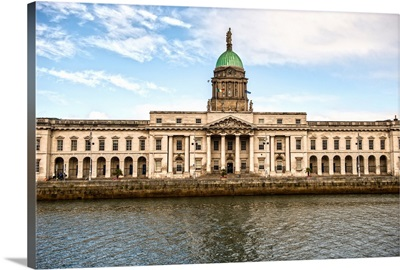 The Custom House, River Liffey, Dublin, Ireland, UK