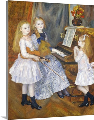The Daughters of Catulle Mendes, Huguette, Claudine, and Helyonne