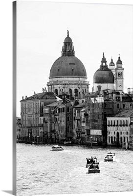 The Grand Canal and Santa Maria della Salute, Venice, Italy