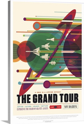 The Grand Tour - JPL Travel Poster
