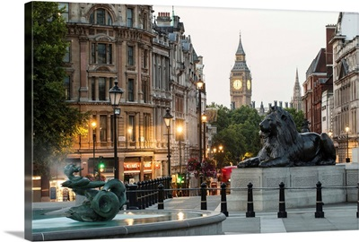 Trafalgar Square, London, England, UK