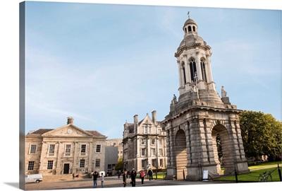 Trinity College Library Exterior, Dublin, Ireland