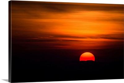 Tuscan Sunset, Tuscany, Italy, Europe