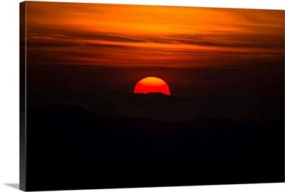Tuscan Sunset, Tuscany, Italy, Europe III