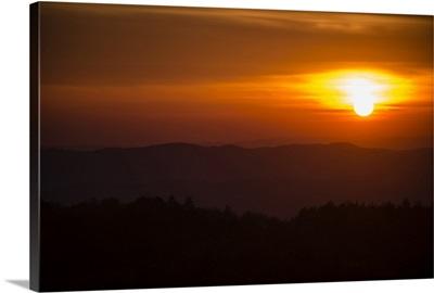 Tuscan Sunset, Tuscany, Italy, Europe V