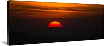 Tuscan Sunset, Tuscany, Italy, Europe VI