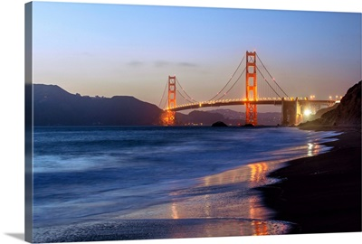 Twilight Golden Gate Bridge