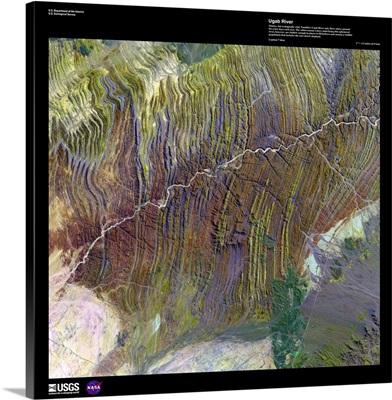 Ugab River - USGS Earth as Art