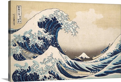 Under the Wave off Kanagawa, from the series Thirty-six Views of Mount Fuji, Original