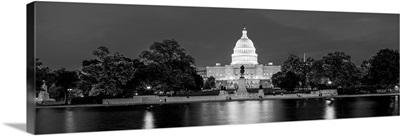 US Capitol Building Washington DC at Dusk