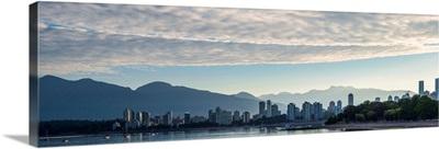 Vancouver, British Columbia, Skyline at Sunset