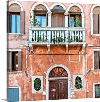 Venice Facade, Italy, Europe