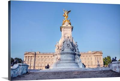 Victoria Memorial In London, England