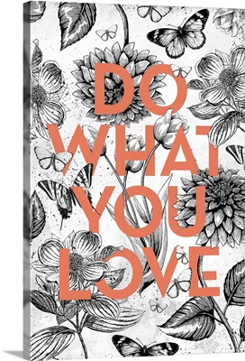 Vintage Illustration Inspiration - Do What You Love