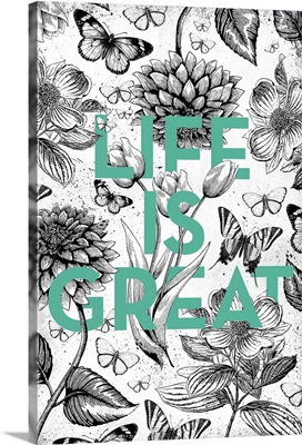 Vintage Illustration Inspiration - Life is Great