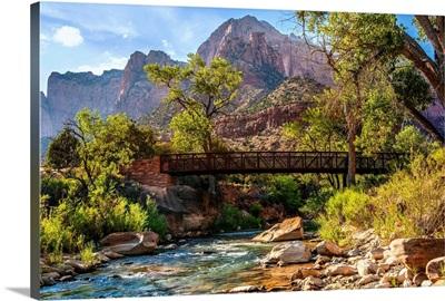Virgin River Bridge, Zion National Park