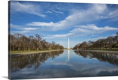 Washington Monument and Reflecting Pool, Washington, DC