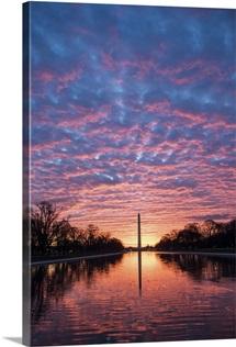 Washington Monument at Sunset, Washington, DC
