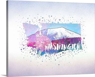 Washington State Flower (Coast Rhododendron)