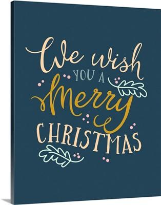 We Wish You - Navy