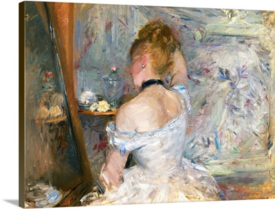 Woman at Her Toilette