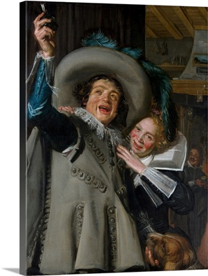 Young Man and Woman in an Inn (Yonker Ramp and His Sweetheart)