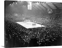 First Kansas State Basketball Game in Ahearn Field House