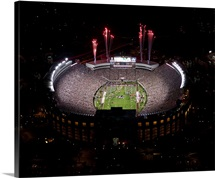 Florida State: Fireworks Over Doak Campbell Stadium, Aerial View