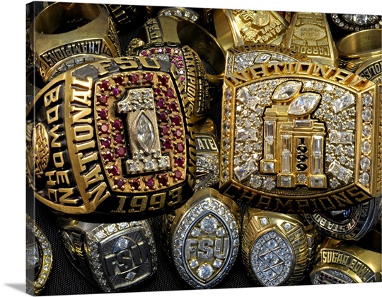 FSU Football Championship Rings