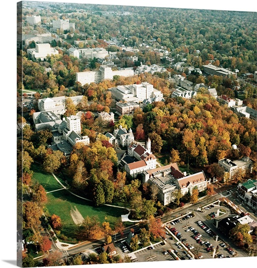 Indiana University Pictures Aerial View of Campus Indiana University