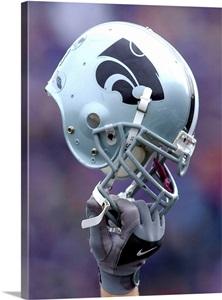 Kansas State Football Helmet Wall Art Canvas Prints