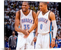 Kevin Durant  and Russell Westbrook - Oklahoma City Thunder