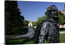 Marquette Photographs Pere Jacques Marquette Statue at the Chapel