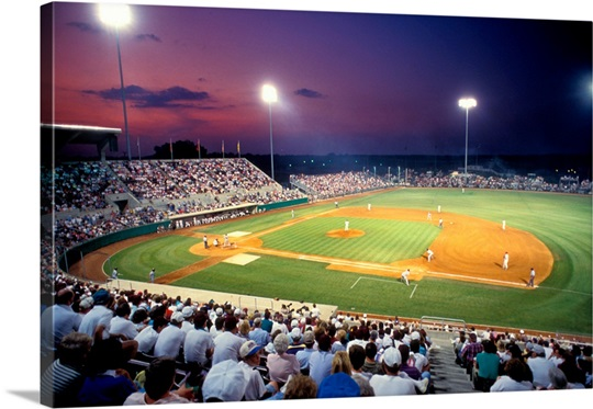Mississippi State Pictures Sunset at Dudy Noble Field