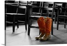 OSU Photographs Cowboy Boots at Oklahoma State