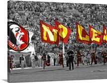 Seminole Flags in Doak Cambell Stadium