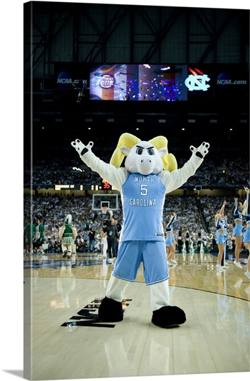 UNC Photographs Rameses at the Final Four 2009