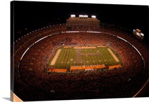 UT Pictures Marching Band T in Neyland Stadium
