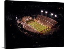 Wake Forest: Aerial View of BB and T Field