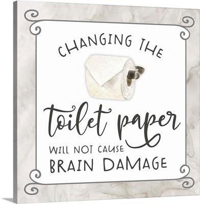 Bath Humor Toilet Paper